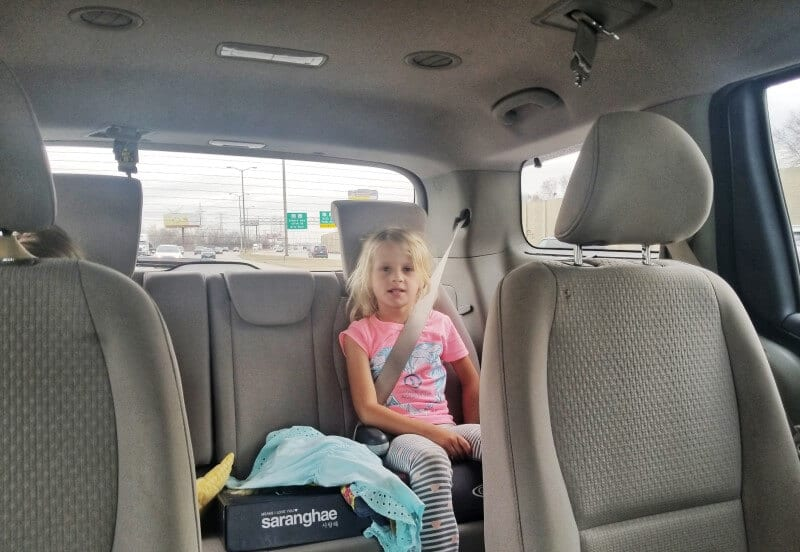 three day road trip with kids