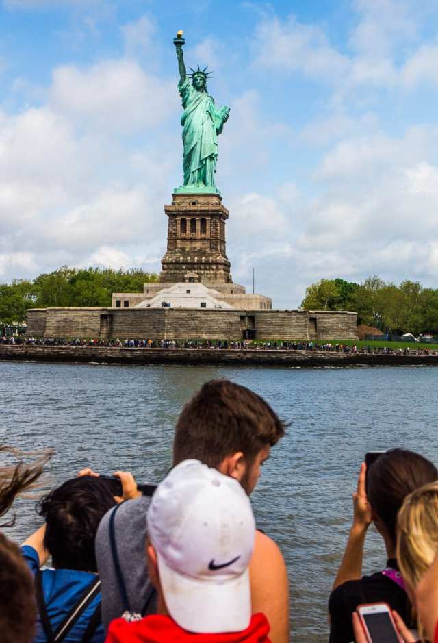 Statue of Liberty cruise - one of the best things to do in New York City