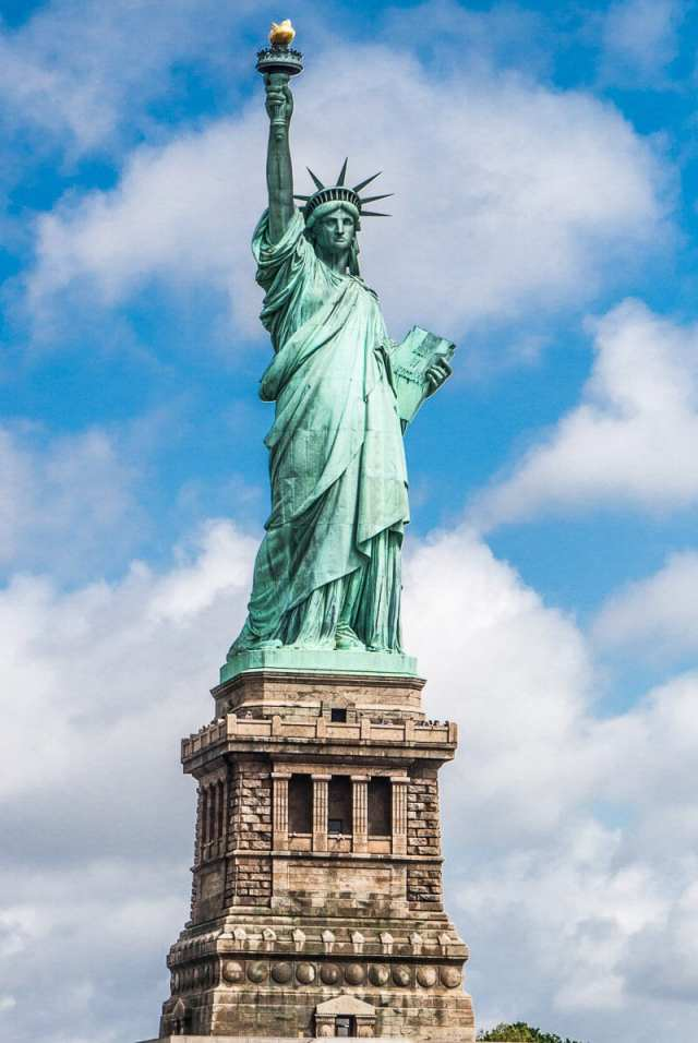 Statue of Liberty facts - learn all about the Lady of Liberty on an Ellis Island tour