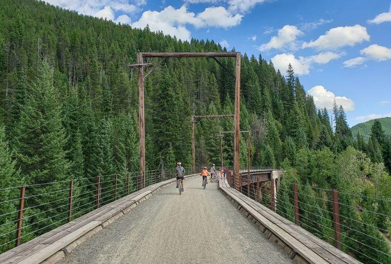 Route of the Hiawatha Trail