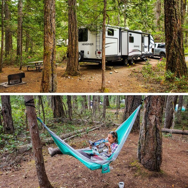 t Newhalem Creek campground