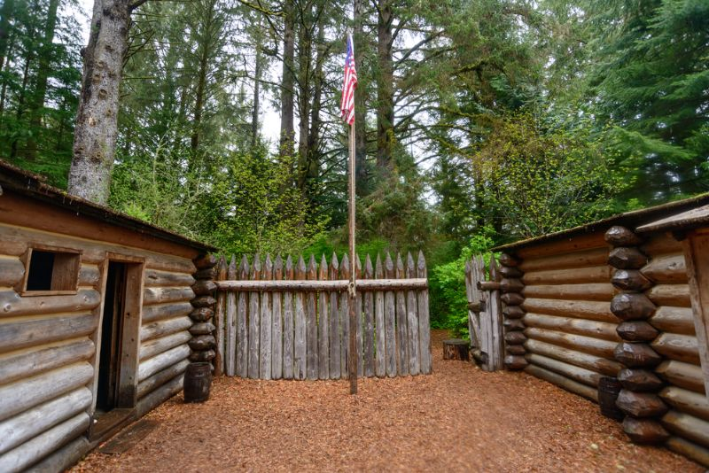Fort Clatsop Lewis and Clark Historical area oregon