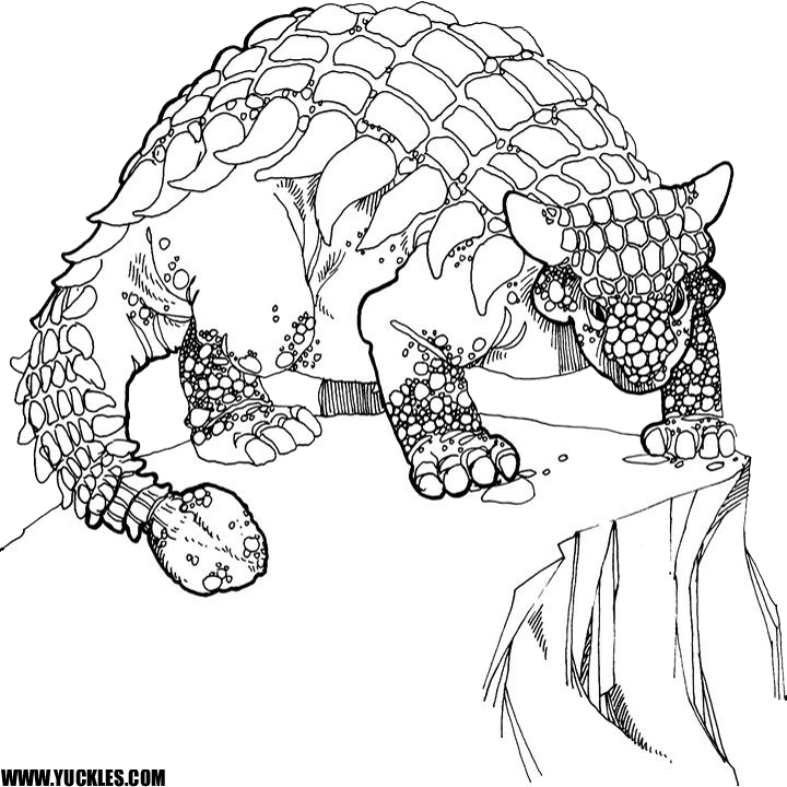 dinosaur coloring pages by yuckles