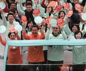 Politics divides families, friends in Hong Kong
