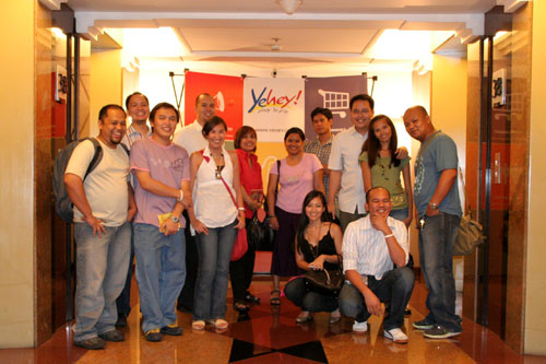Band of Bloggers at Yehey