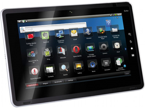 Toshiba AS100 tablet announced! - YugaTech | Philippines