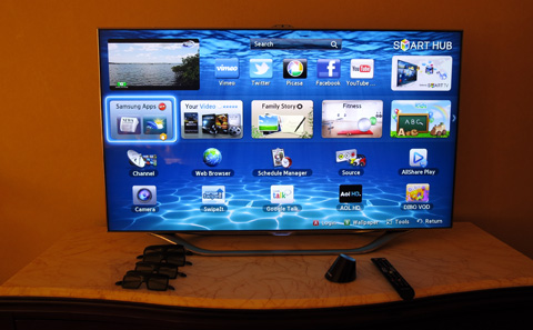 Sleep-over with the Samsung ES8000 LED TV - YugaTech