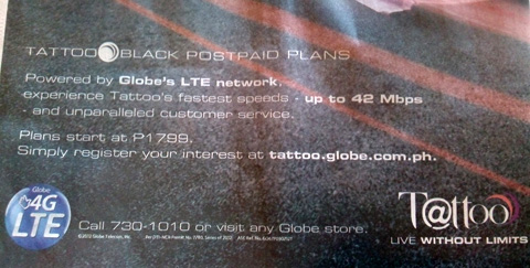 tentredsim • Blog Archive • Globe tattoo lte sim activation