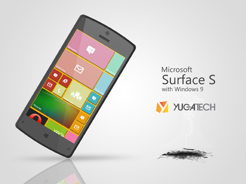 Surface S