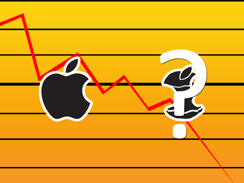 apple declines
