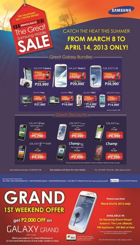 samsung great sale