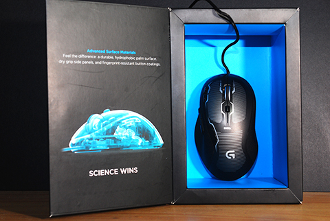 g500s gaming mouse