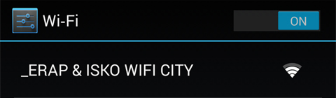 WIFI ERAP ISKO CITY