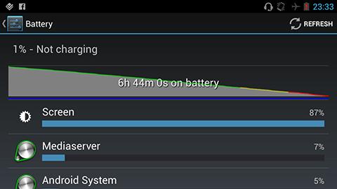 apollo battery life