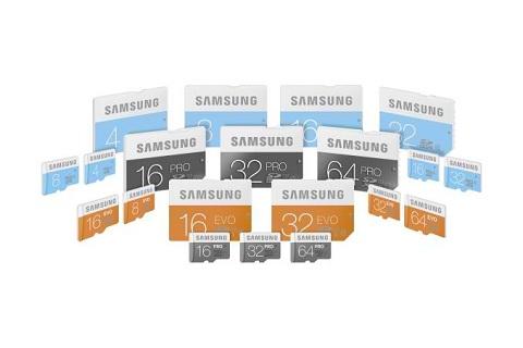 Samsung debuts Standard, EVO and PRO SD cards - YugaTech