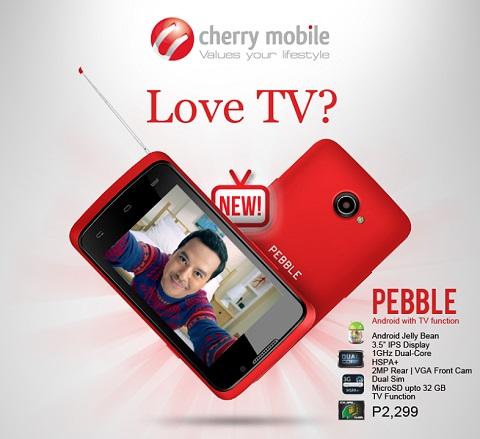 cherry mobile pebble