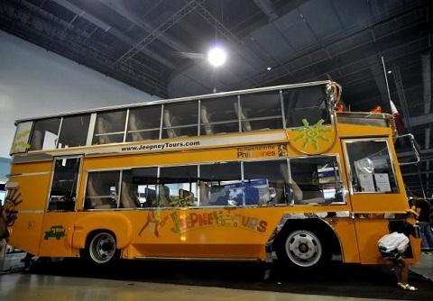 double decker jeepney philippines