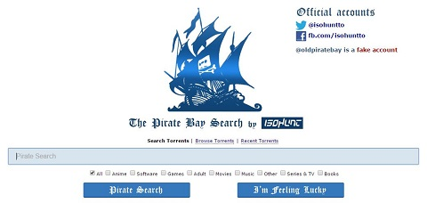 Old Pirate Bay