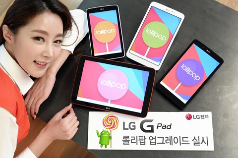 Android Lollipop LG G Pad_1