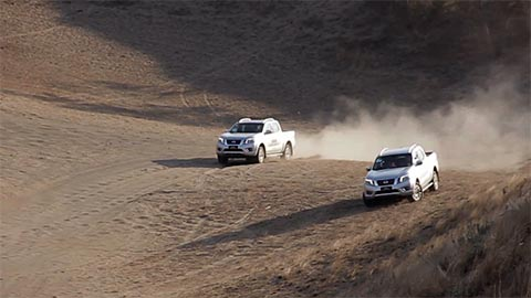YugaTech Presents: Conquering the Dunes with the Nissan NP300 Navara