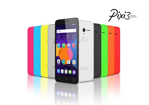 Alcatel OneTouch Pixi 3 (5 5): entry-level Android w/ LTE