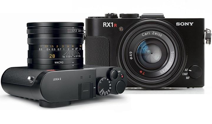 Leica Q Sony RX1 R