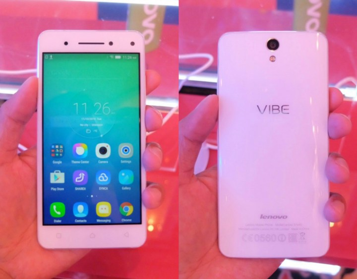 Lenovo Vibe S1, Vibe P1, and Vibe P1m launches in PH
