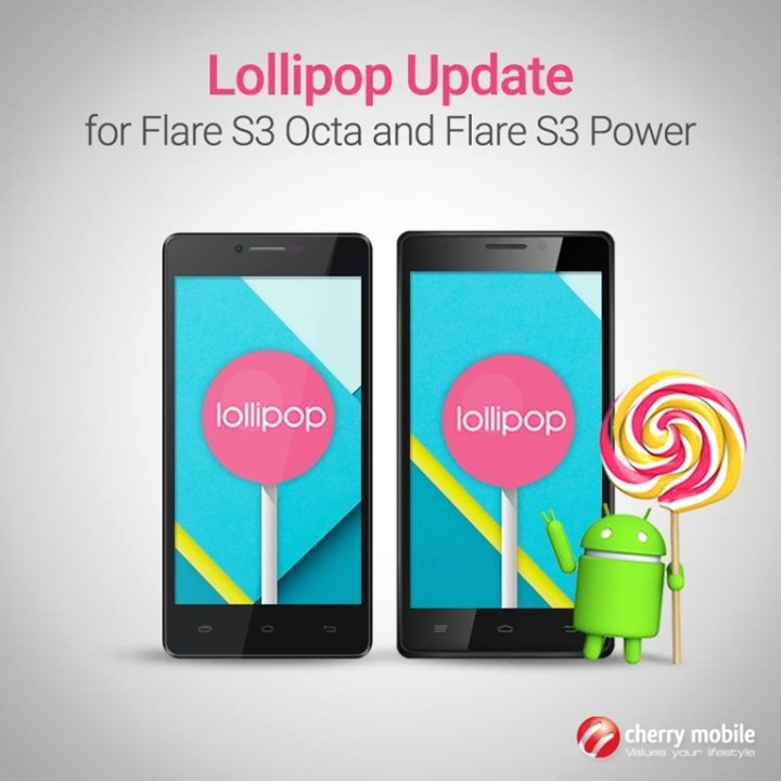flare-s3-octa-power-lollipop-update