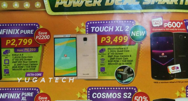 TOUCH XL 2