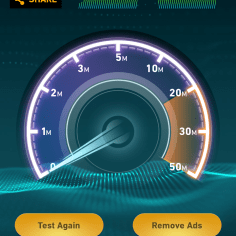 Test 11: The speed went back again to 17Mbps.