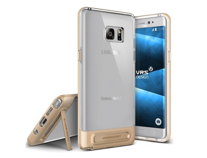 Case maker reveals Galaxy Note 7 cases including device