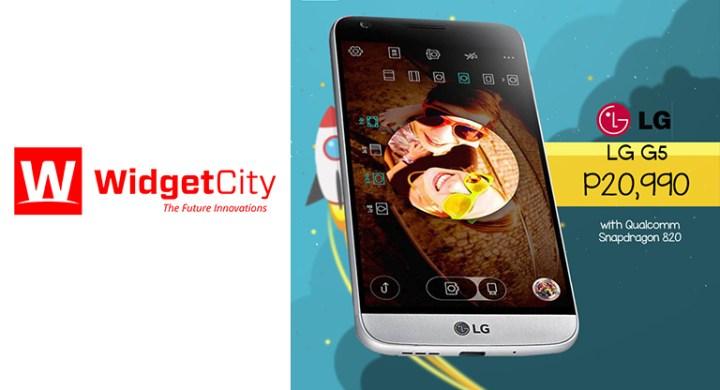 lg g5 widget