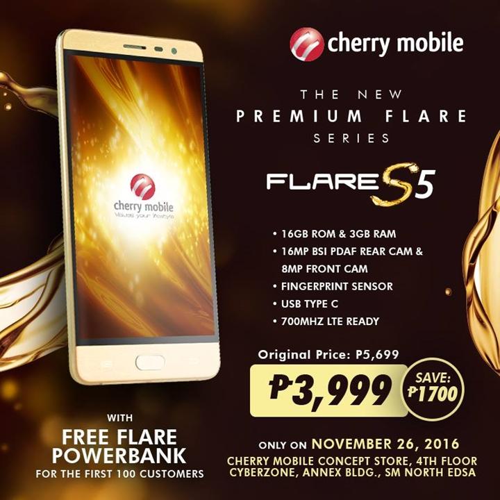 cherry-flare-s5-sale