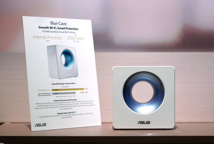 ASUS Blue Cave Smart Wi-Fi Router Hands-on - YugaTech