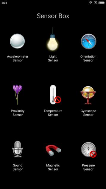 mi max 2_sensors