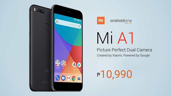 Xiaomi Mi A1 to be available at 1st Mi Authorized Store in PH