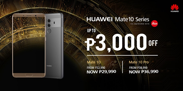 Huawei Mate 10 and Mate 10 Pro receives price cut - YugaTech