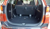 trunk space seats up mobilio rs