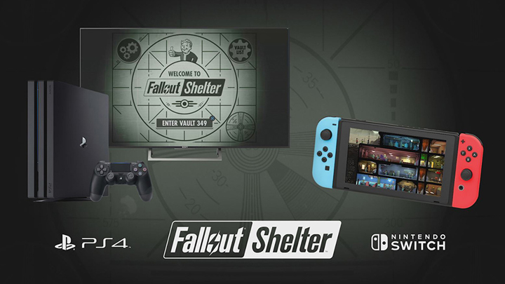 Fallout Shelter now available for download on PS4 and