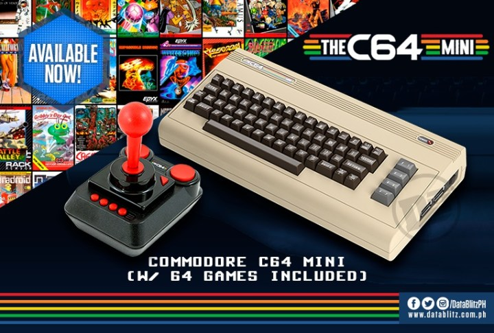 Commodore C64 Mini now available at DataBlitz - YugaTech