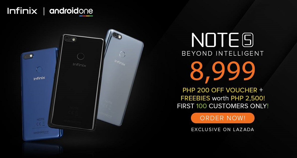 Infinix Note 5 priced, to be available on August 1