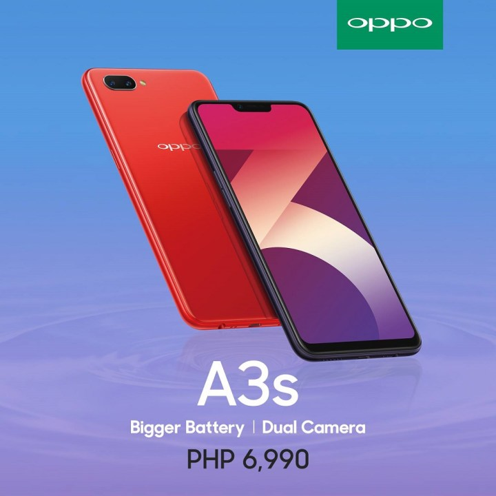 OPPO A3s now available in the Philippines