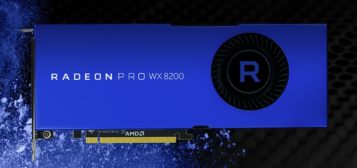 AMD outs Radeon Pro WX8200 Workstation Graphics Card