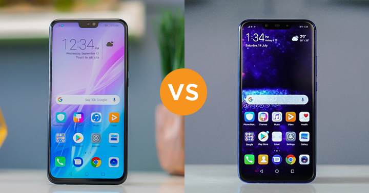 Honor 8X vs Huawei Nova 3i specs comparison - YugaTech