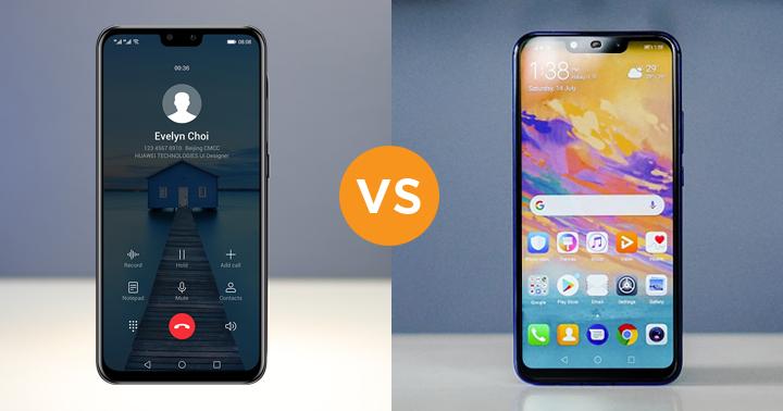 Huawei Y9 2019 Vs Huawei Nova 3i Specs Comparison