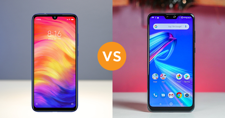 Redmi Note 7 vs ASUS ZenFone Max Pro M2 specs comparison