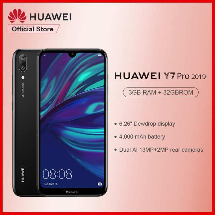 Huawei Y7 Pro 2019 pre-order now available in the