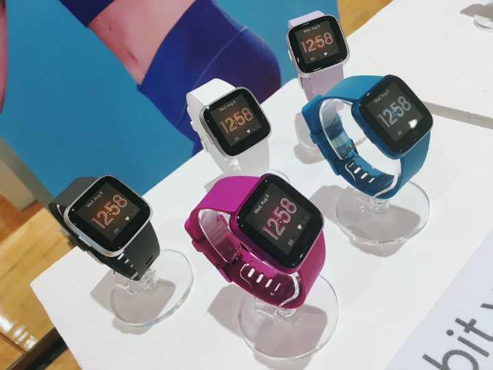 Fitbit Versa Lite, Inspire HR, Inspire now in the