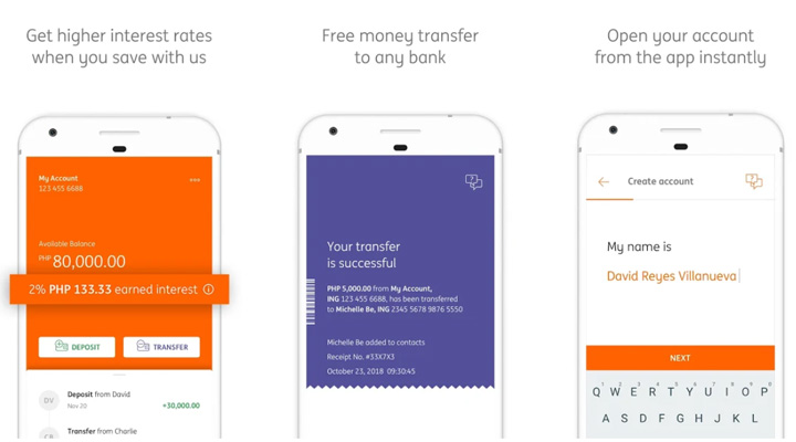 ING Philippines launches first fully digital retail bank in