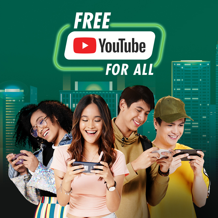 Smart, SUN, TNT announce free YouTube streaming add-on for